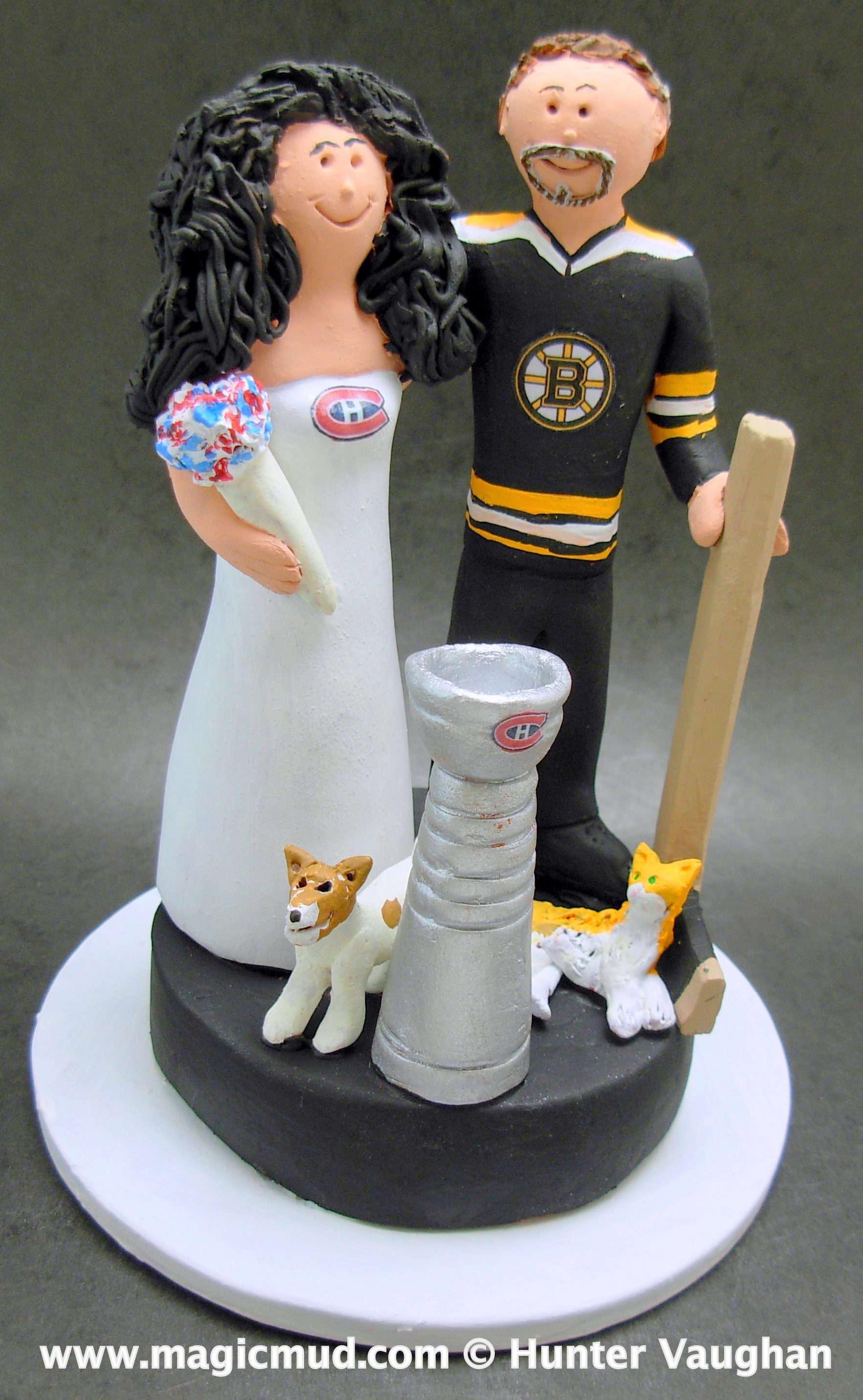 Hockey Cake Toppers Canada