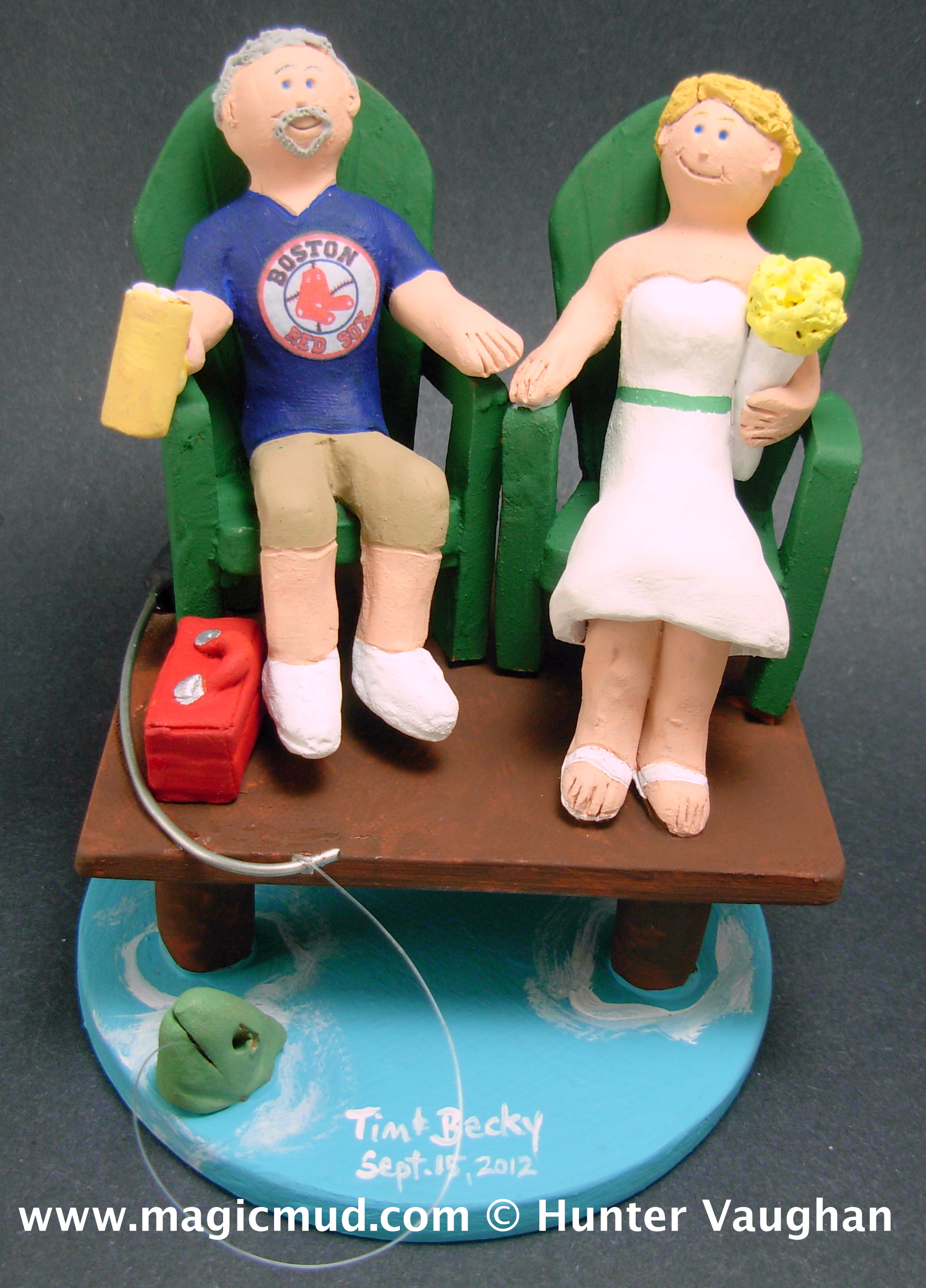 Fantastic Fishing Wedding Cake Toppers Gamerscity Chair Design For Home Gamerscityorg
