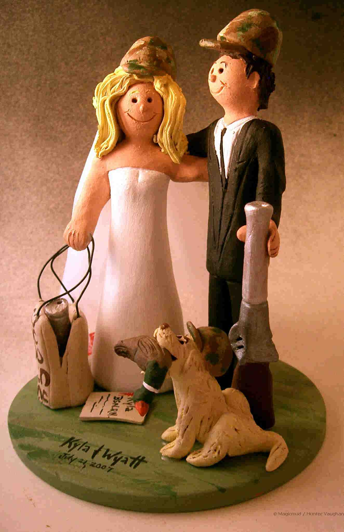 Hunting Wedding Cakes Viewing Gallery