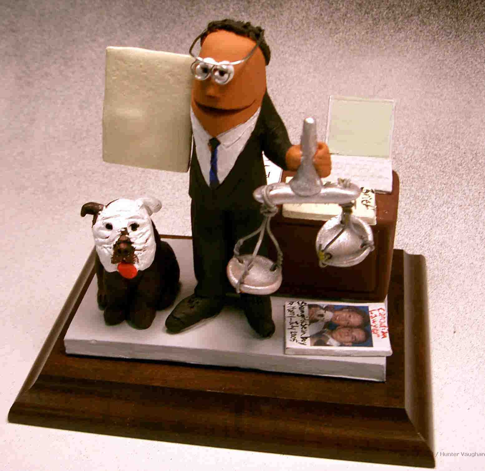 Lawyer Figurines, Attorney Statues, Legal Caricatures ...