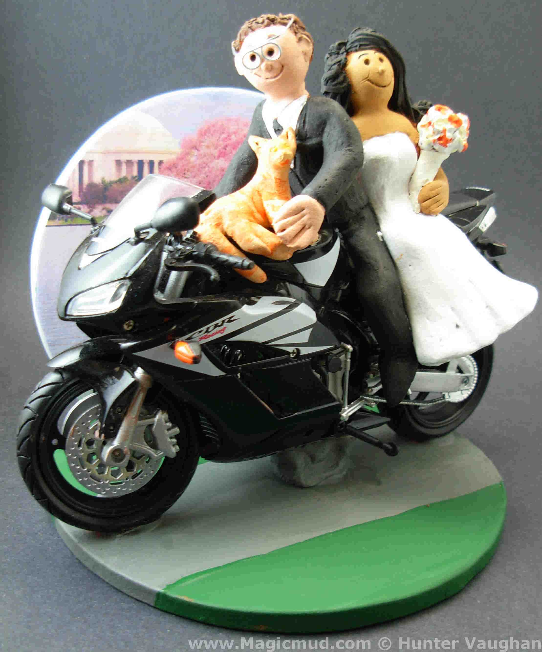 Custom Anime Wedding Cake Toppers