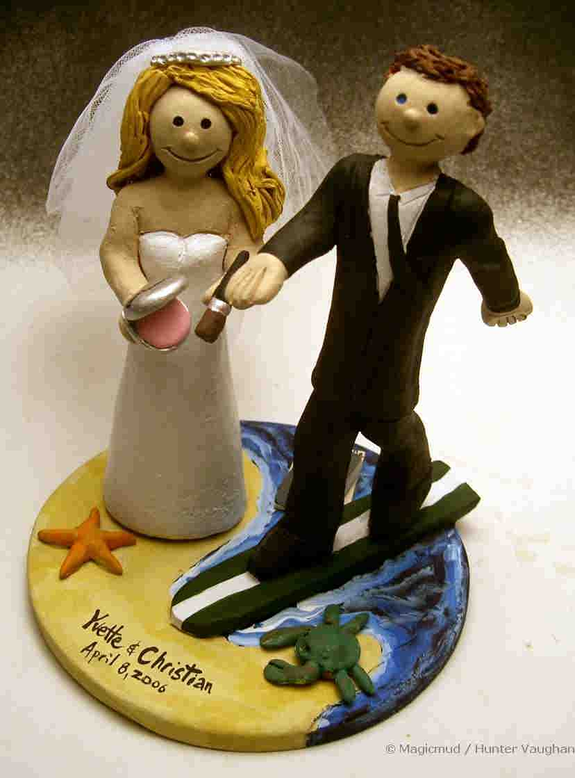 unique cake toppers for wedding cakes