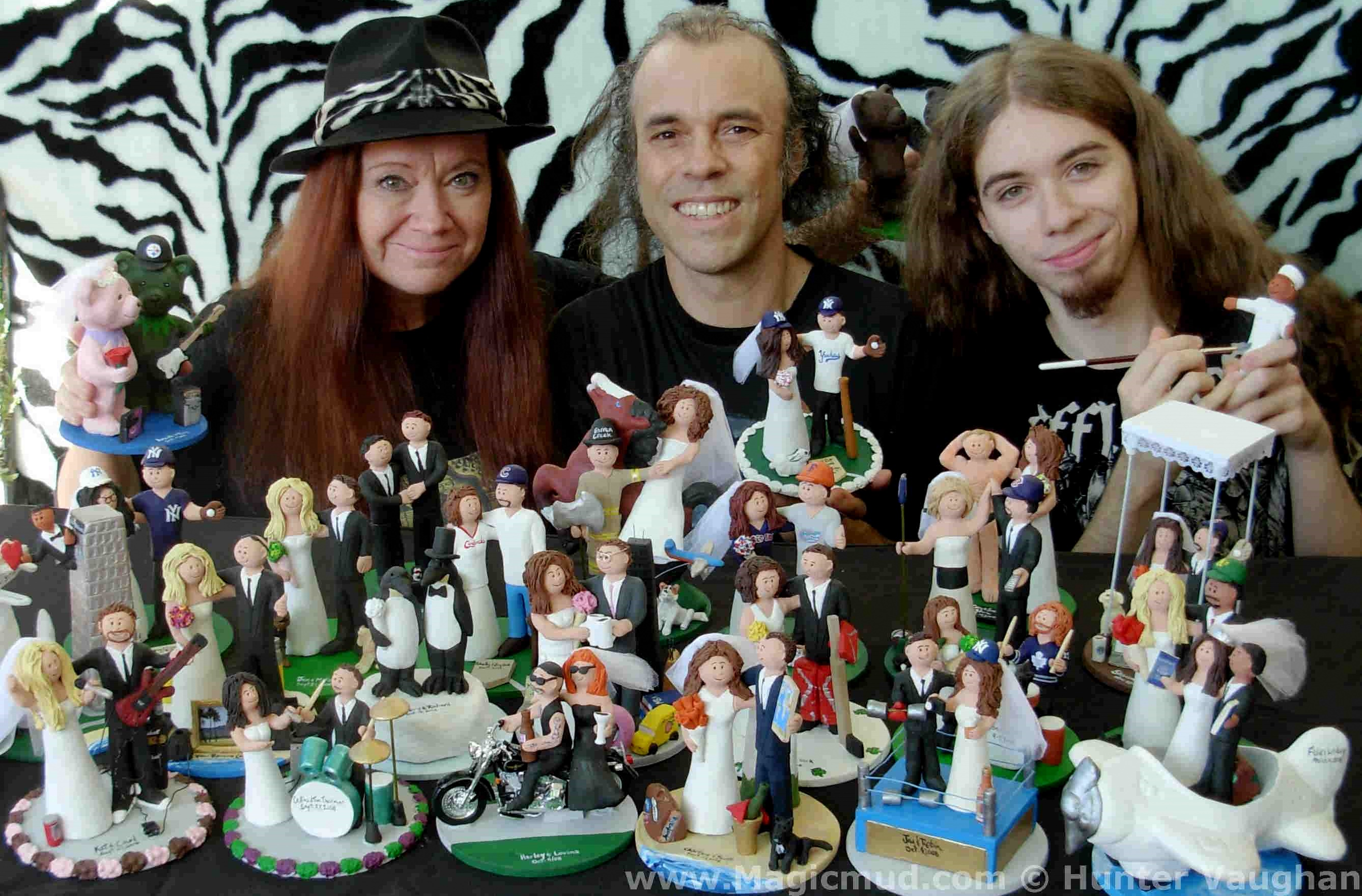 Custom Wedding Cake Toppers Created By Magicmud