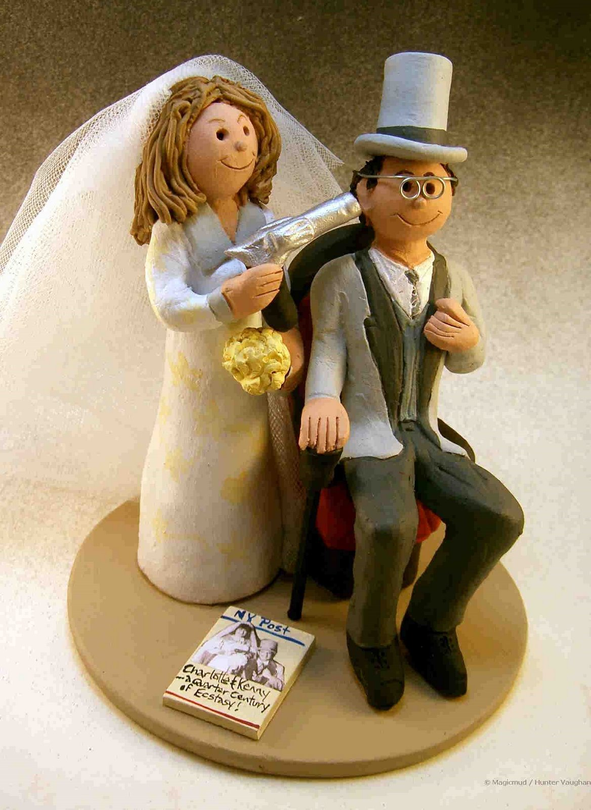 25th Anniversary Cake Topper custom wedding cake toppers
