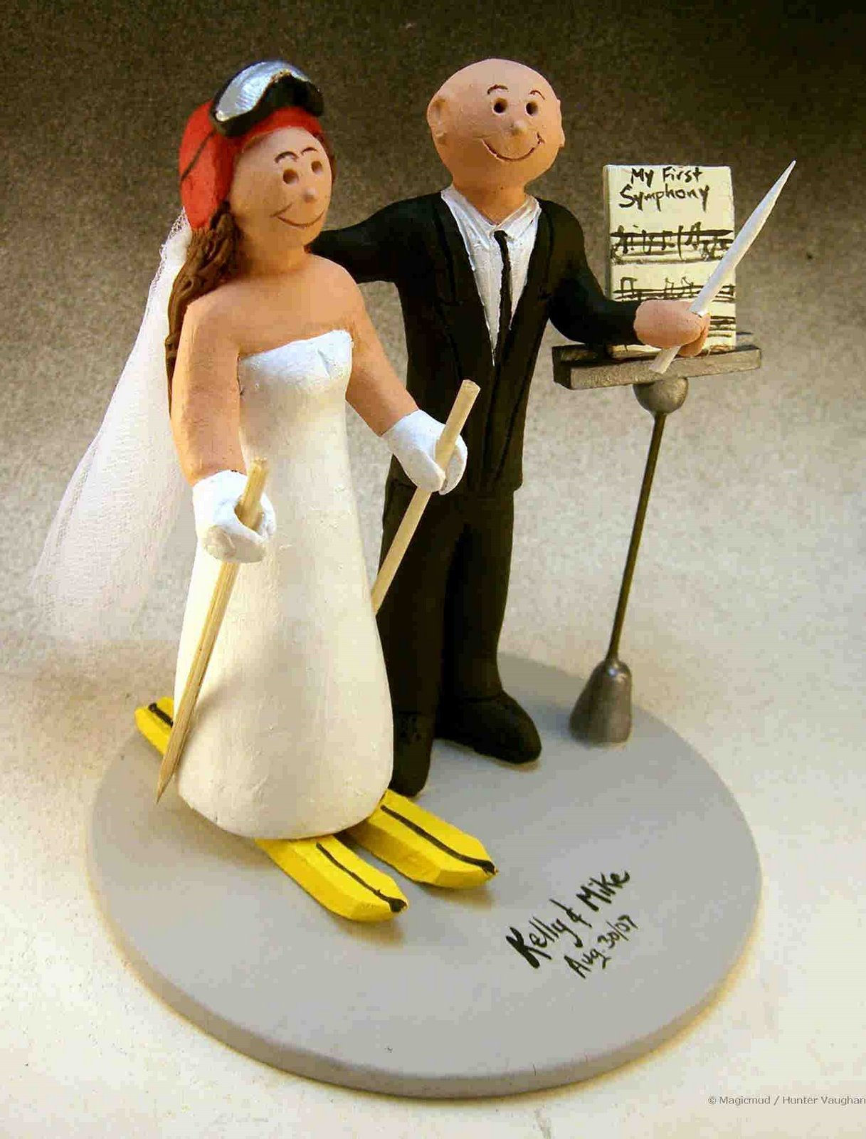 Wedding Cake Topper Of The DayConductors