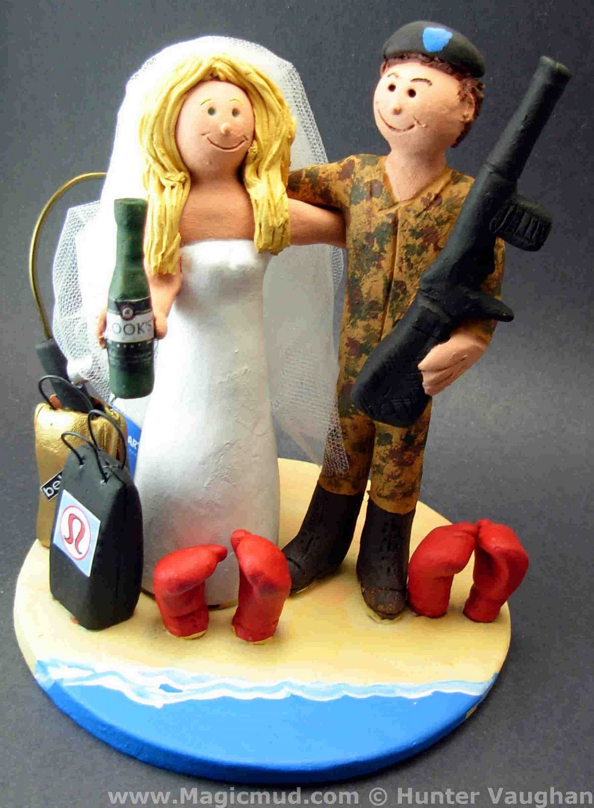 Pics s Redneck Wedding Cake Topper 2 Redneck Back Home