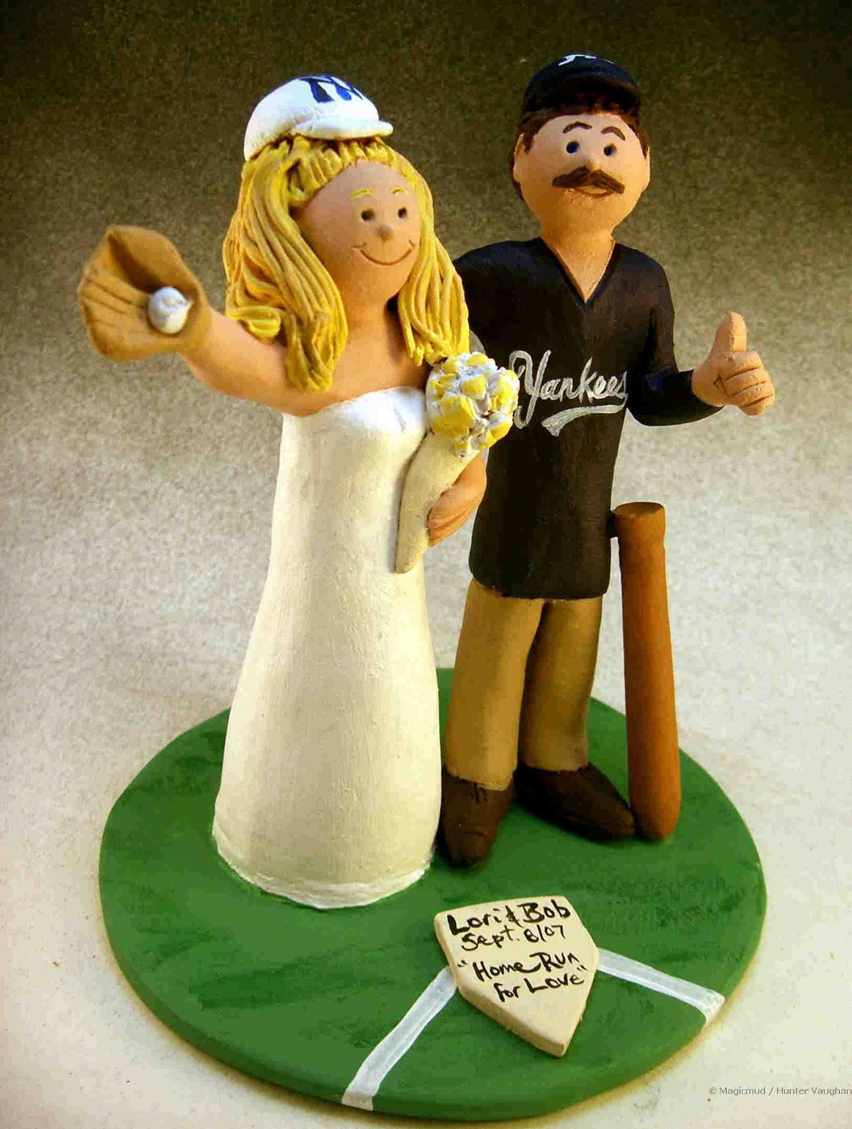 custom wedding cake toppers: January 2008
