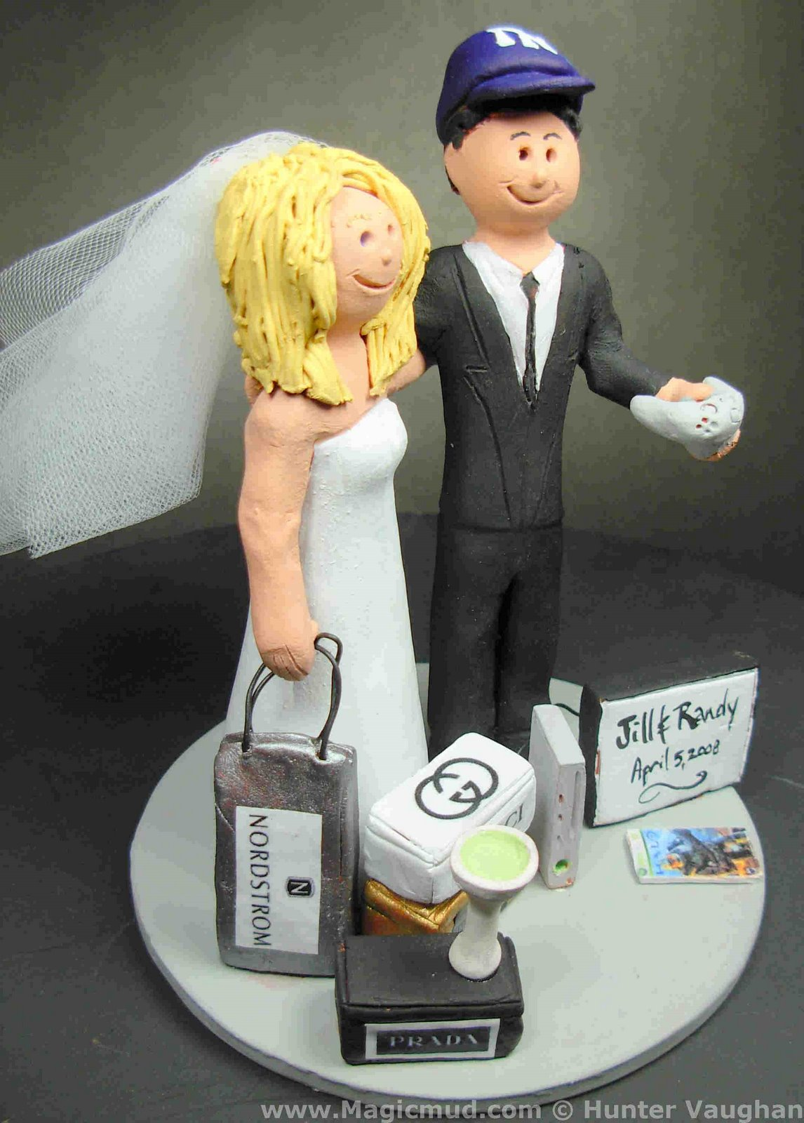 Wedding Cake Topper Of The Day Video R Weds A Ping Bride