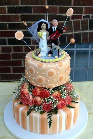 unique cake toppers for wedding
